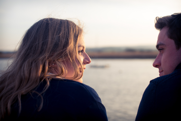 Rockrose photography, Engagement shoot, Topsham, Devon