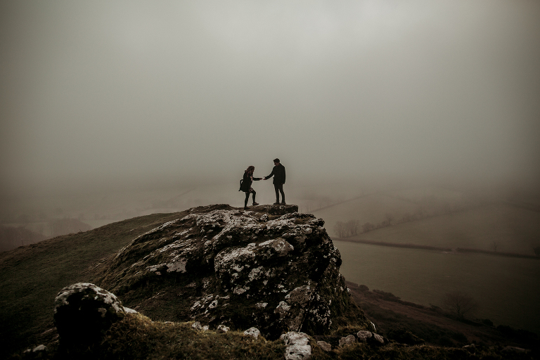 Brentor engagement shoot