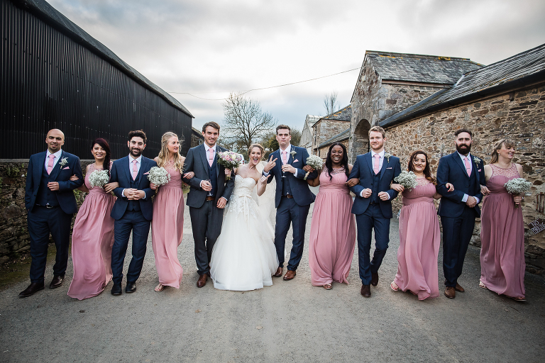 Anran Barn wedding