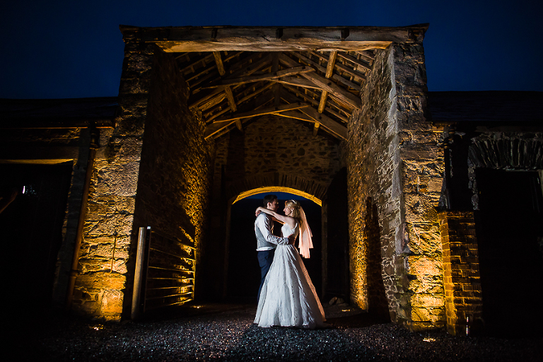 Night photography, Anran Devon, Couple in Archway