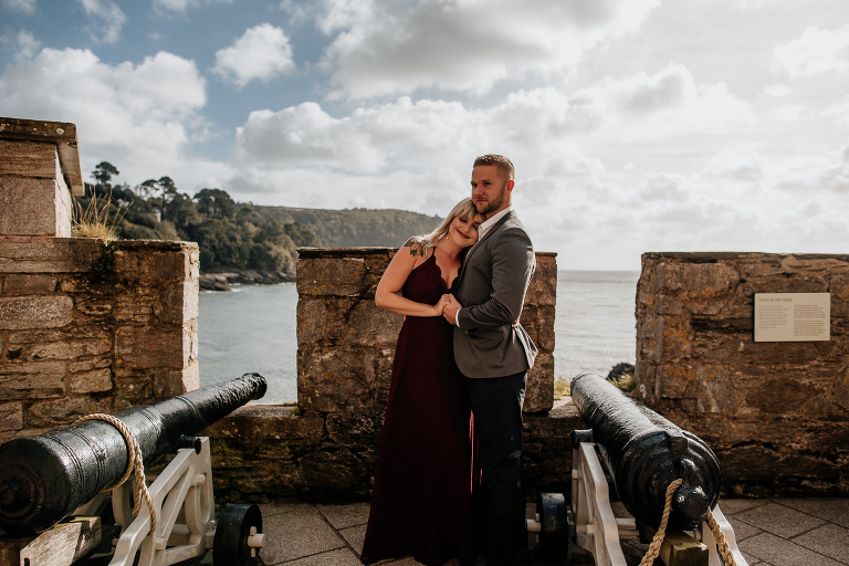 engagement at dartmouth castle