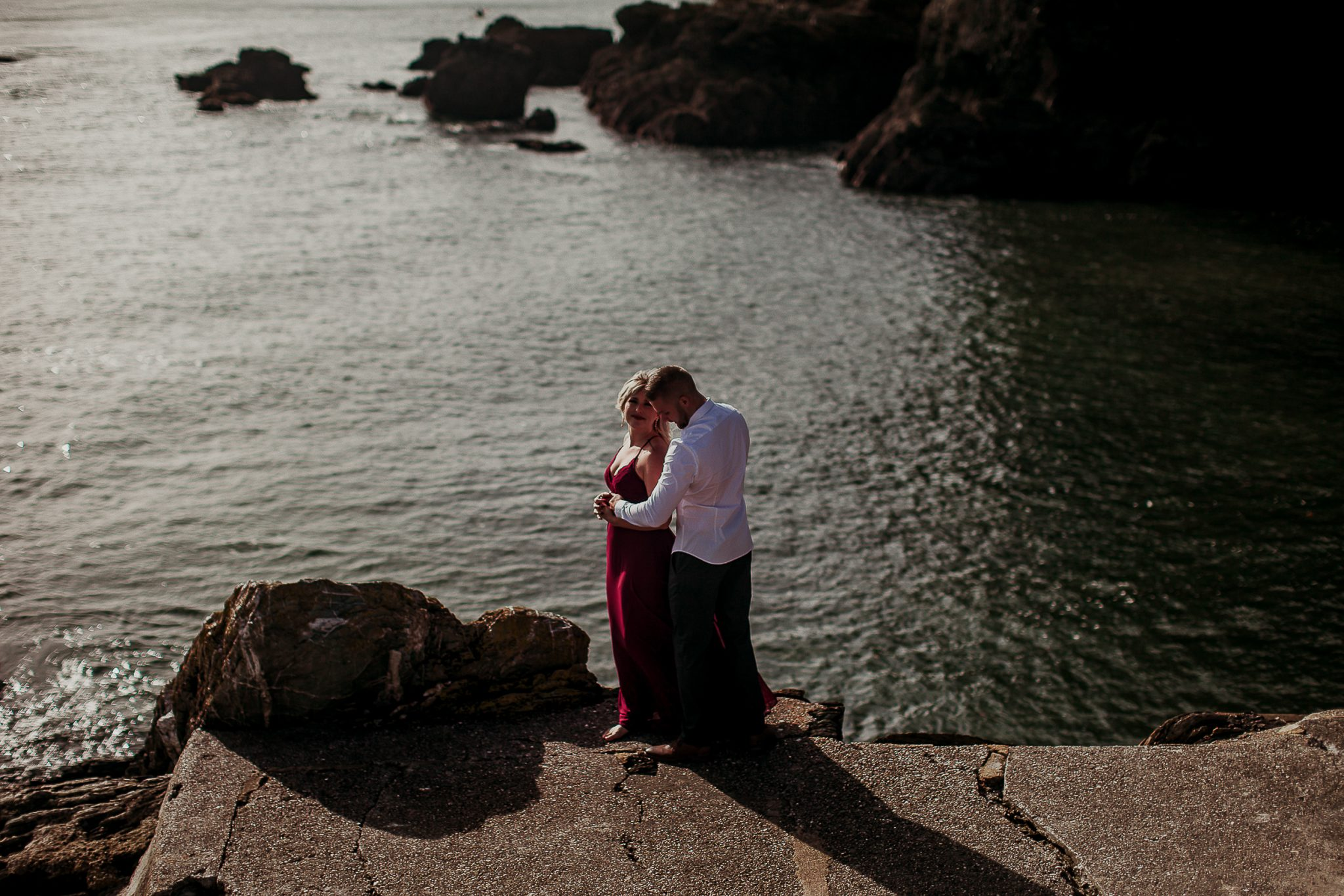 Dartmouth castle engagement shoot